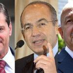 México: Casi 90% de ciudadanos apoya juzgar a expresidentes Salinas, Calderón y Peña