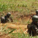 Cuatro presuntos terroristas mueren en enfrentamiento con fuerzas del orden