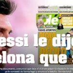 Messi quiere dejar el Barcelona: Lo que dice la prensa argentina (VIDEOS)