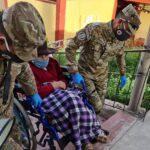 Fuerzas Armadas seguirán firmes en la lucha contra la pandemia