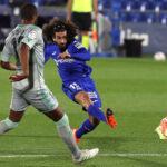 Liga Santander: Getafe líder provisional al golear 3-0 al Betis