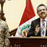 Presentan moción de censura contra Manuel Merino por sus llamadas a las FFAA