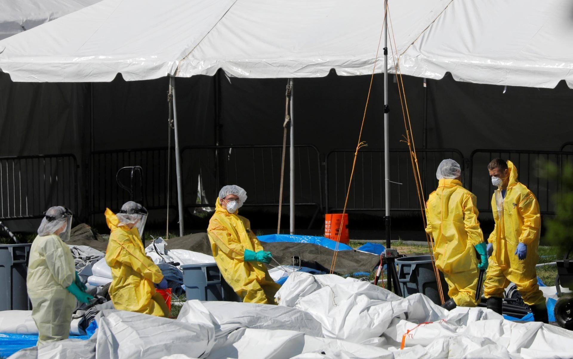 COVID-19: EEUU según último recuento supera 191.000 muertes