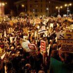 Protestas contra Netanyahu no cesan ni con pandemia ni con ola de calor