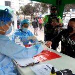 Surco: Minsa realiza descarte de Covid-19 a 300 repartidores de alimentos