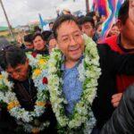 Perú felicita a Luis Arce y le desea éxitos en la presidencia de Bolivia