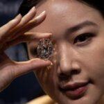 Subastan diamante perfecto de 102 quilates por 13,4 millones de dólares (VIDEO)