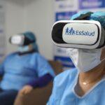 Covid-19: EsSalud brinda terapias con realidad virtual a pacientes hospitalizados