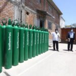 Coronavirus: Donan 50 balones de oxígeno a hospitales de Arequipa