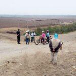 La Libertad: Intervienen a ocho ciclistas en zonas no autorizadas del complejo Chan Chan