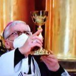Arzobispo de Lima ofició misa en Santuario de las Nazarenas (VIDEO)