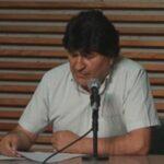 Bolivia: Morales dice que devolverán la dignidad y la libertad al pueblo (VIDEO)