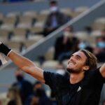 Roland Garros: Tsitsipas se venga de Rublev y accede a semifinales (video)