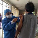 Difteria: Cien personas se vacunan en apenas un día en hospital de Chimbote