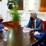 Diálogo político: Presidente Sagasti se reunió con César Acuña