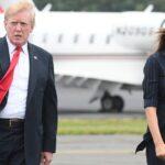 Melania Trump cuenta los minutos para divorciarse de Donald Trump