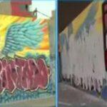 Lima: Destruyen murales alusivos a jóvenes fallecidos en la marcha (VIDEOS)
