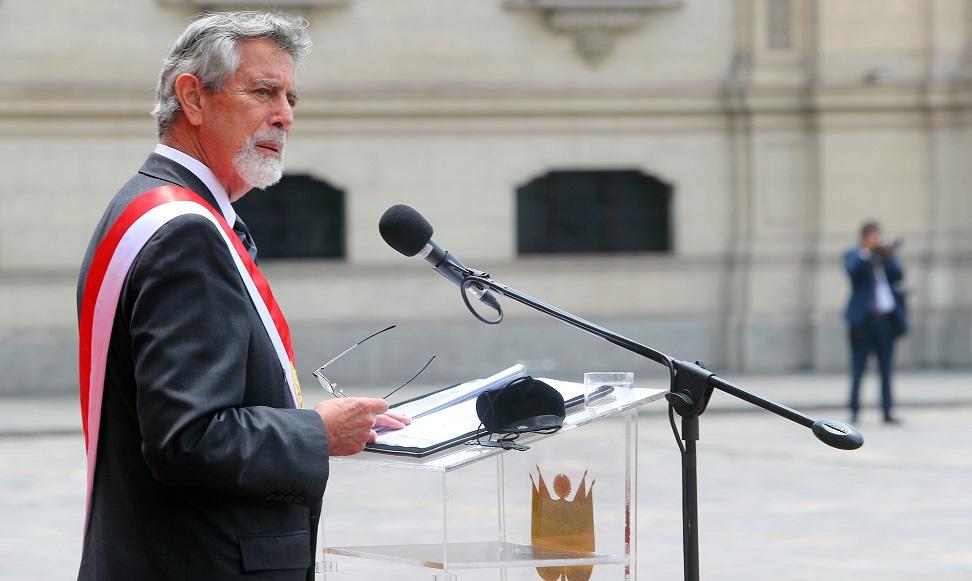 Francisco Sagasti participará en su primer evento internacional como presidente del Perú