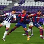Liga Santander: Levante iguala 1-1 ante Real Valladolid en 5to empate consecutivo