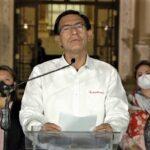 Martín Vizcarra aceptó decisión y dejó Palacio de Gobierno (VIDEO)