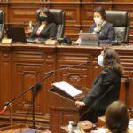 Violeta Bermúdez solicitó el voto de confianza al Congreso (VIDEO)