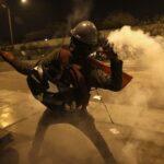 Manifestaciones: Las renuncias en la Policía Nacional