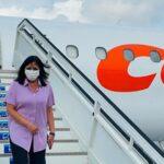 La vicepresidenta de Venezuela llega a Cuba para presentar Ley Antibloqueo