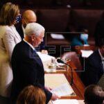 EEUU: Congreso valida triunfo de Biden y Trump acepta transición