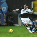 Serie A italiana: Inter tropieza ante Udine (0-0) y el Milan cae con Atalanta(3-0)