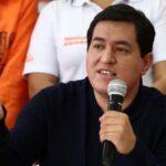 Ecuador: Andrés Arauz ganaría primera vuelta de presidenciales según encuestas