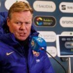 Ronald Koeman: Barcelona no está para ganar muchas cosas