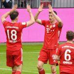 Doblete de Lewandowski en goleada del Bayern Múnich al Colonia por 5 a 1