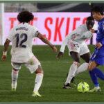 Liga Santander: Real Madrid en encuentro aplazado derrota 2-0 al Getafe