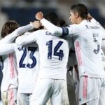 Champions: Real Madrid en los minutos finales vence 1-0 al Atalanta
