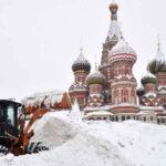 """Nevada apocalíptica"" sepulta Moscú bajo 56 centímetros de nieve"