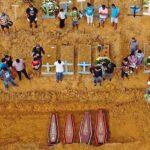 Covid-19: Brasil se acerca a las 4.000 muertes diarias