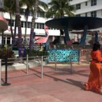EEUU: Calma en Miami Beach durante el segundo fin de semana bajo toque de queda