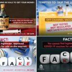 Interpol alerta ventas de vacunas falsas tras desmantelar redes de fraude