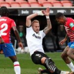 LaLiga: Granada pierde ante el Valencia 2 a 1
