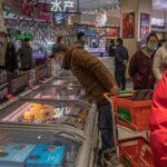 China: La inflación bajó 0.2 % durante febrero