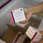 Venezuela recibe otras 50.000 dosis de la vacuna rusa Sputnik V