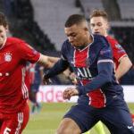 PSG pese a perder 1-0 despide a  Bayern Múnich de la Champions League