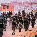 Lomo de Corvina: Policía Nacional retiró a invasores (VIDEO)