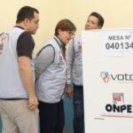 Elecciones peruanas con observadores de 17 organismos internacionales