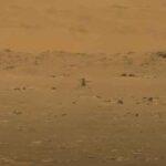 Helicóptero Ingenuity hace historia al volar por primera vez en Marte