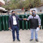 Covid-19: DISA Apurímac II remite 70 balones de oxígeno a hospital de Andahuaylas