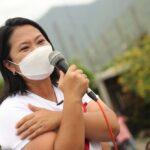 Keiko Fujimori descarta fuga y esperará decisión de juez para viajar a Ecuador