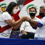 Keiko Fujimori agradece apoyo político de César Acuña en segunda vuelta (VIDEO)