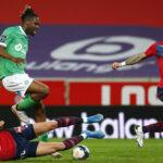 Liga 1 de Francia: Lille empata 0-0 con Saint Etienne y el PSG golea al Reims