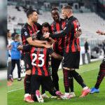 Serie A italiana: Milan golea por 3 a 0 al Juventus en Turín